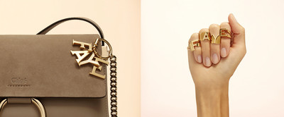 Chloe alphabet bag charms - © Convergences