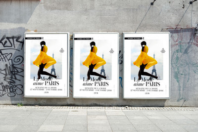 La mode aime Paris Campaign - © Convergences